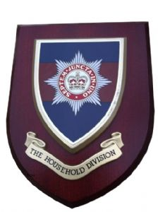 Household Division Regimental Military Wall Plaque Shield
